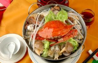 海鮮鍋圖片