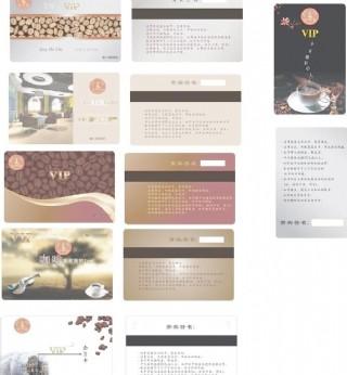 咖啡連鎖品牌店vip卡圖片